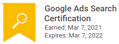 Google Ads Certification 2021 Jay Tiew